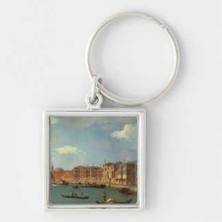View of the Canal of Santa Chiara, Venice Keychain