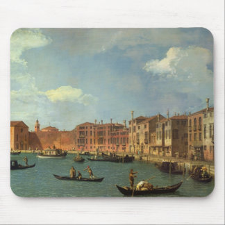View of the Canal of Santa Chiara, Venice Mouse Pad