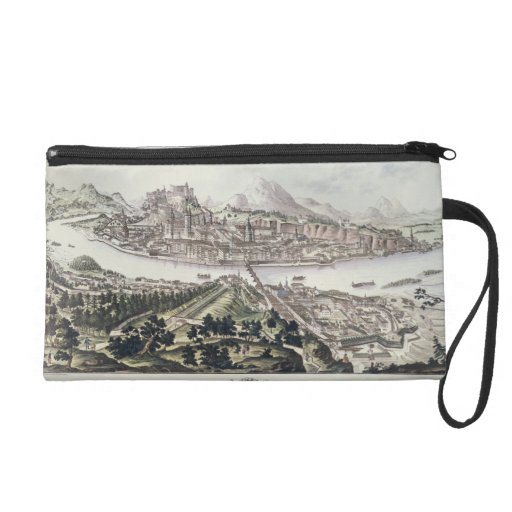 View of the Capital City and Fortress of Salzburg, Wristlet Purses
