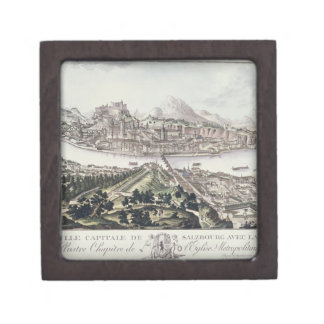 View of the Capital City and Fortress of Salzburg, Keepsake Box