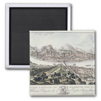 View of the Capital City and Fortress of Salzburg, Magnet