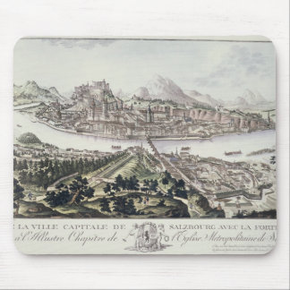 View of the Capital City and Fortress of Salzburg, Mouse Pad