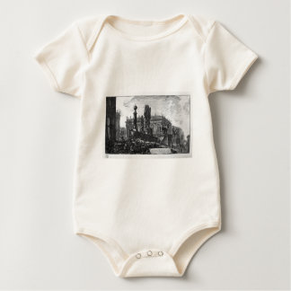 View of the Capitol by Giovanni Battista Piranesi Baby Bodysuit