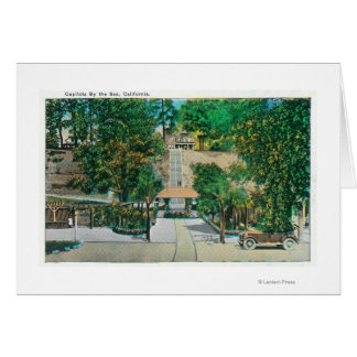 View of the Capitola StepsCapitola CA Greeting Cards