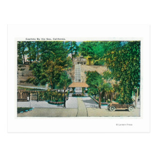 View of the Capitola StepsCapitola CA Postcards