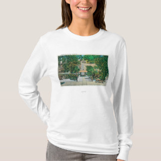 View of the Capitola StepsCapitola, CA T-Shirt
