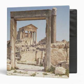 View of the Capitolium, 166-167 AD Binder