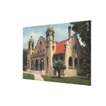 View of the Carnegie Public Library Gallery Wrap Canvas