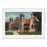 View of the Carnegie Public Library Greeting Card