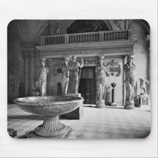 View of the Caryatids Tribune Mouse Pad
