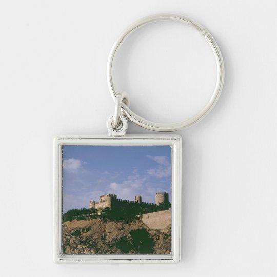 View of the castle keychain