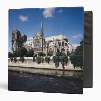 View of the Cathedral from the Seine, 1163-1345 3 Ring Binder