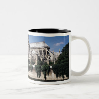 View of the Cathedral from the Seine, 1163-1345 Coffee Mugs