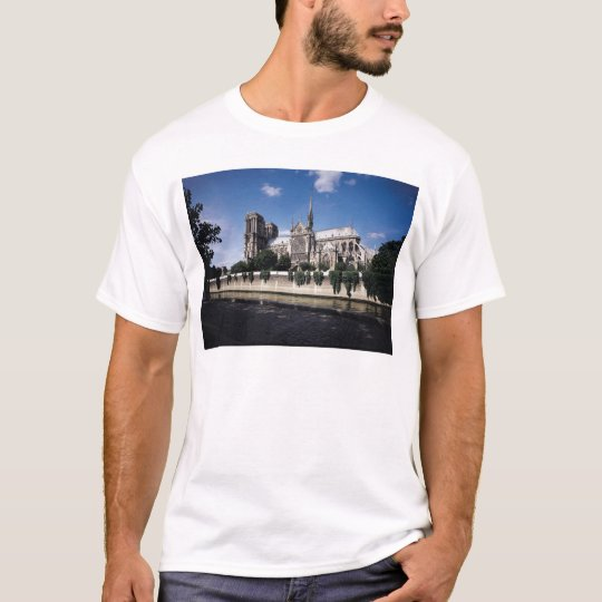 View of the Cathedral from the Seine, 1163-1345 T-Shirt