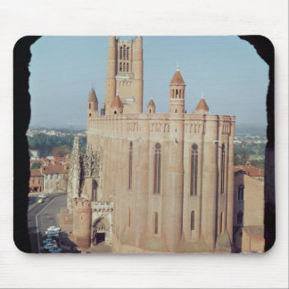 View of the Cathedral of Sainte-Cecile Mouse Pad