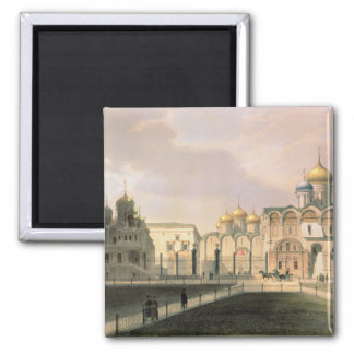 View of the Cathedrals in the Moscow Kremlin Magnets