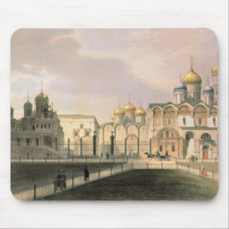 View of the Cathedrals in the Moscow Kremlin Mouse Pad