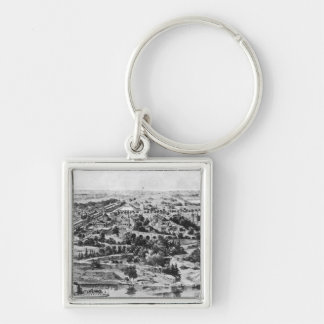 View of the Centennial Exposition Keychain