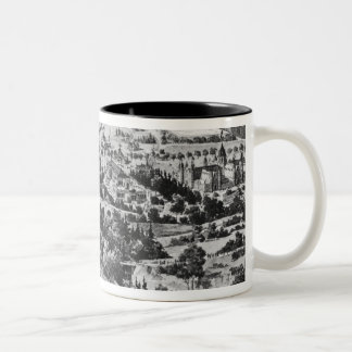 View of the Centennial Exposition Two-Tone Coffee Mug
