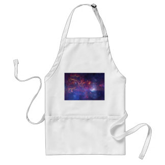 View of the Center of the Milky Way Galaxy Adult Apron