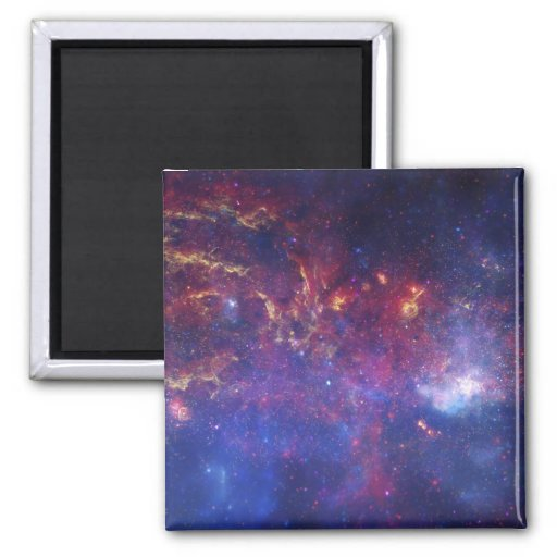 View of the Center of the Milky Way Galaxy Magnet