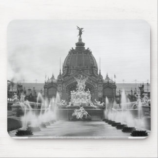 View of the Central Dome and the Fountain Mouse Pad