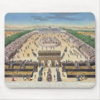 View of the Champs de Mars, 14th July 1790 Mouse Pad