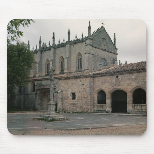 View of the Charterhouse Facade Mouse Pad