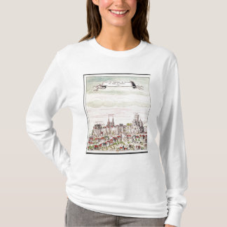 View of the Chateau de Loches, 1699 T-Shirt