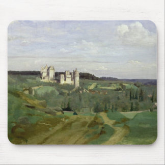 View of the Chateau de Pierrefonds, c.1840-45 Mouse Pad