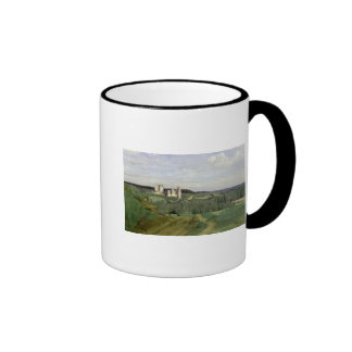 View of the Chateau de Pierrefonds, c.1840-45 Ringer Coffee Mug