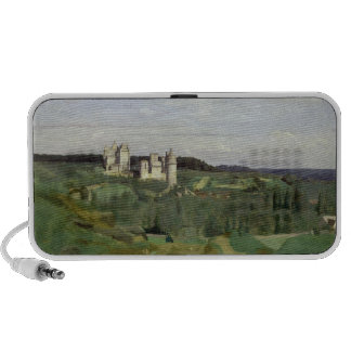 View of the Chateau de Pierrefonds, c.1840-45 Travel Speakers