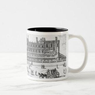 View of the Chateau de Saint-Germain-en-Laye Coffee Mugs