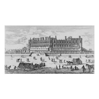 View of the Chateau de Saint-Germain-en-Laye Poster