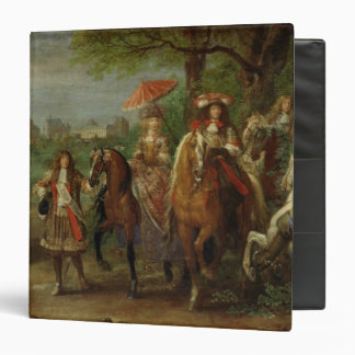 View of the Chateau de Vincennes 3 Ring Binder