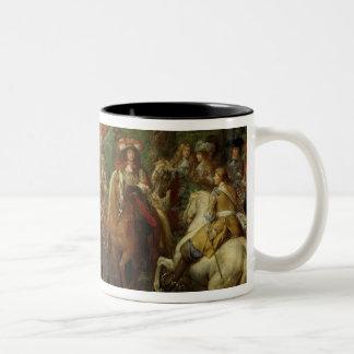 View of the Chateau de Vincennes Two-Tone Coffee Mug