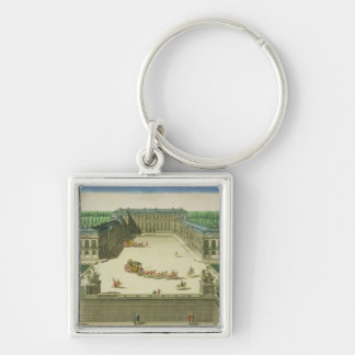 View of the Chateau of St. Cloud, engraved by Anto Key Chains