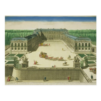 View of the Chateau of St. Cloud, engraved by Anto Postcard