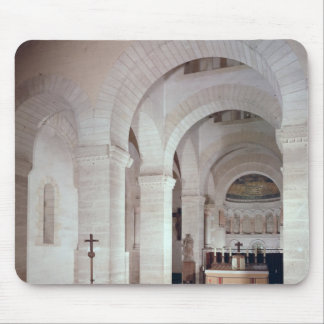 View of the choir, built in 806 AD Mousepad