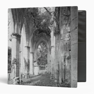 View of the church, c.1052-67 3 ring binder