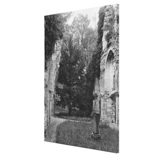 View of the church, c.1052-67 canvas print