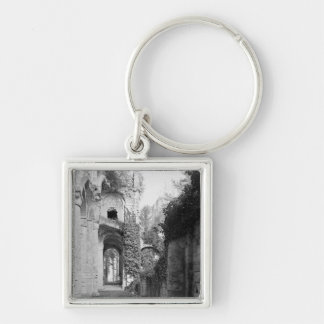 View of the church, c.1052-67 keychain