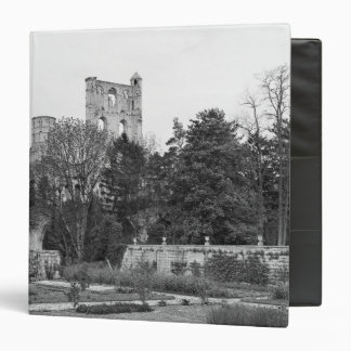 View of the church exterior, c.1052-67 3 ring binder