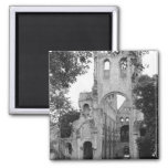 View of the church interior, c.1052-67 2 inch square magnet