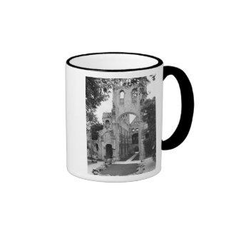 View of the church interior, c.1052-67 coffee mugs