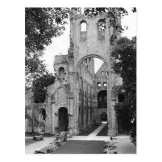 View of the church interior, c.1052-67 postcard