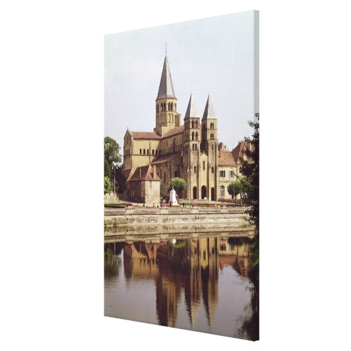 View of the Church of Notre-Dame Canvas Prints