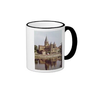 View of the Church of Notre-Dame Coffee Mugs