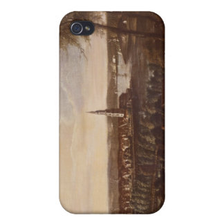 View of the Church of the Holy Spirit Case For iPhone 4