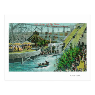 View of the Circle Swings and the Chutes Post Cards